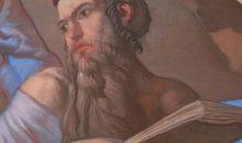 Il profeta Elia; particolare